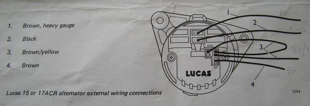 05 morris minor owners view topic alternator rebuild lucas 16 acr alternator wiring diagram at n-0.co